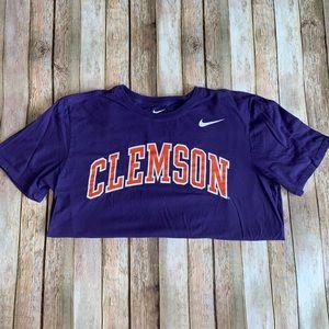 Clemson Nike graphic fan gear large tee